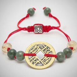 Good Fortune Coin bracelet