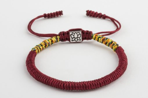 knotted Lucky rope bracelet