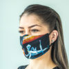 Face mask with design