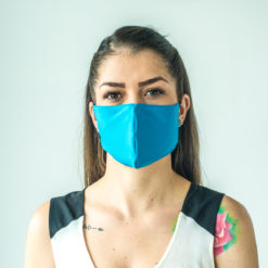 protective face mask blue